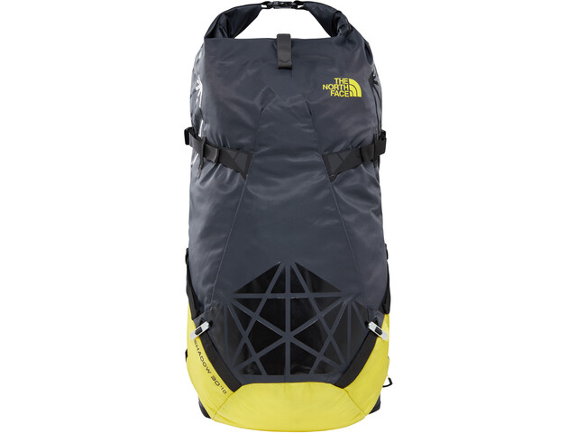 The North Face Shadow 30+10 Backpack asphalt grey/blazing yellow